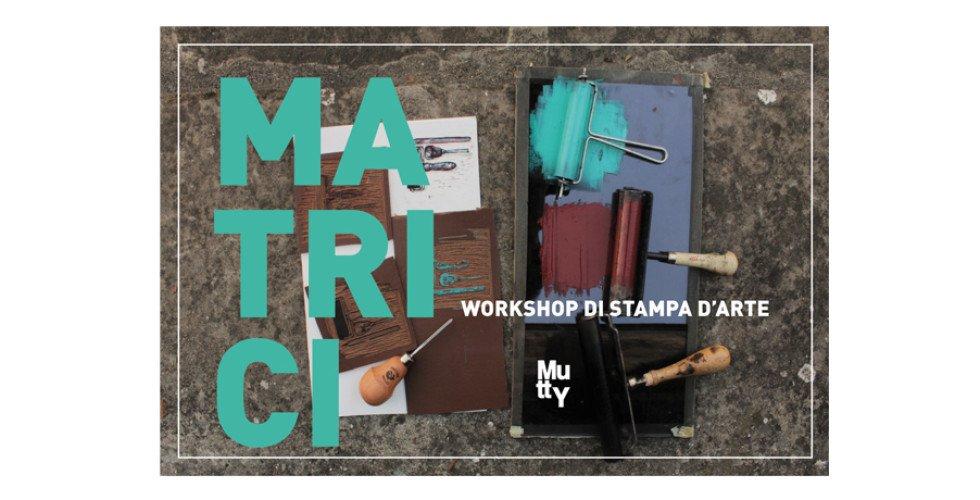 workshop di stampa d'arte da mutty