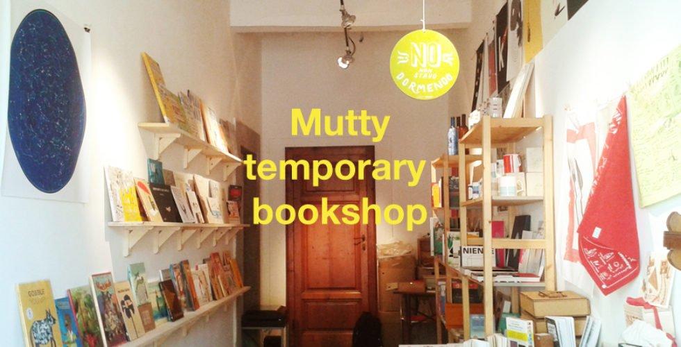 mutty temporary bookshop toscana