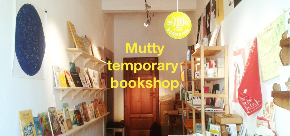 Mutty Temporary Bookshop   Castagneto Carducci
