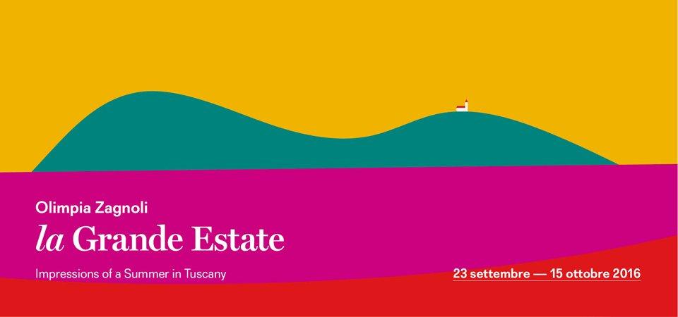La Grande Estate | Una mostra di Olimpia Zagnoli