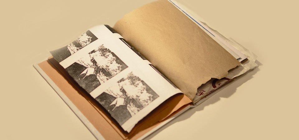 Laboratorio di rilegatura con Libri Finti Clandestini