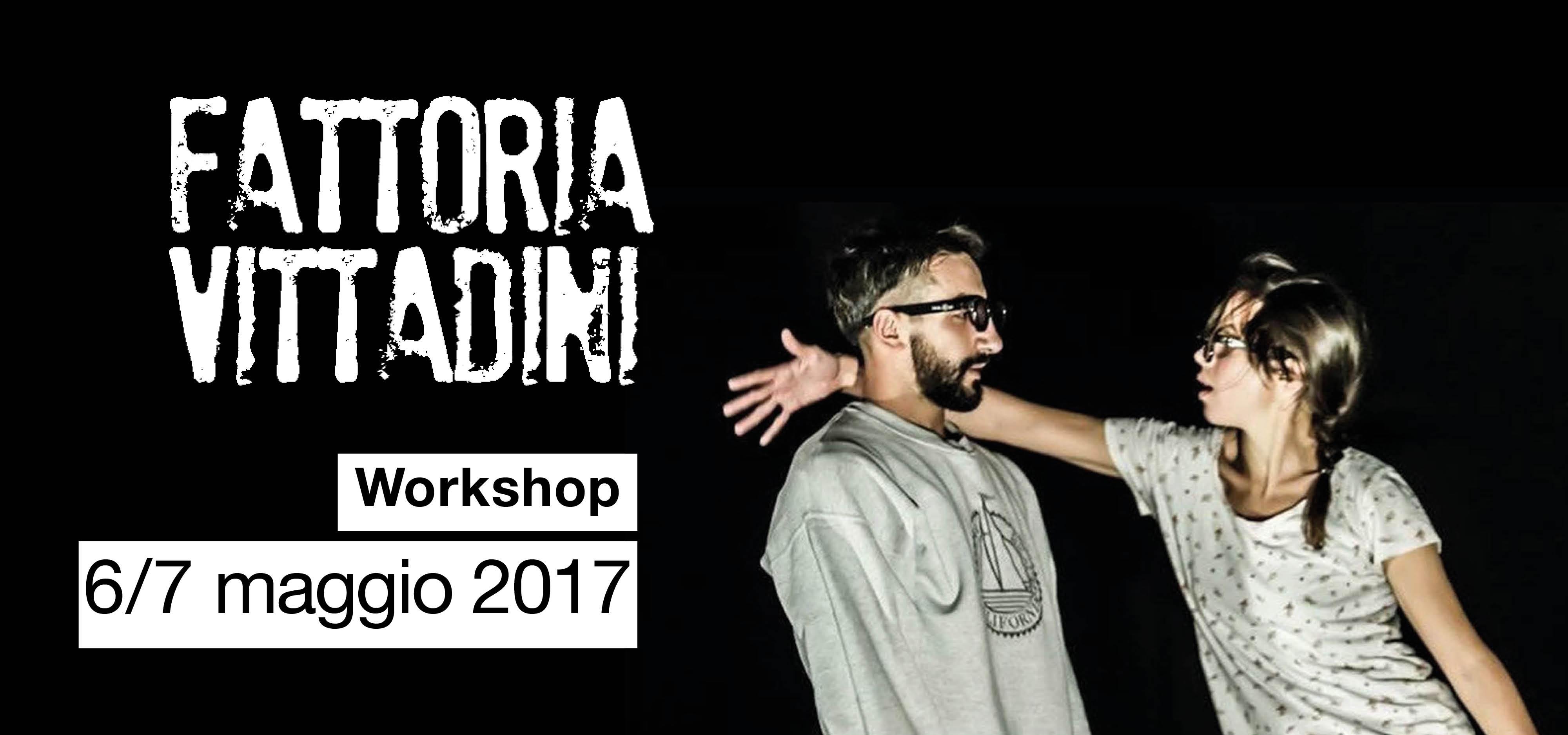 Workshop teatro-danza con Fattoria Vittadini