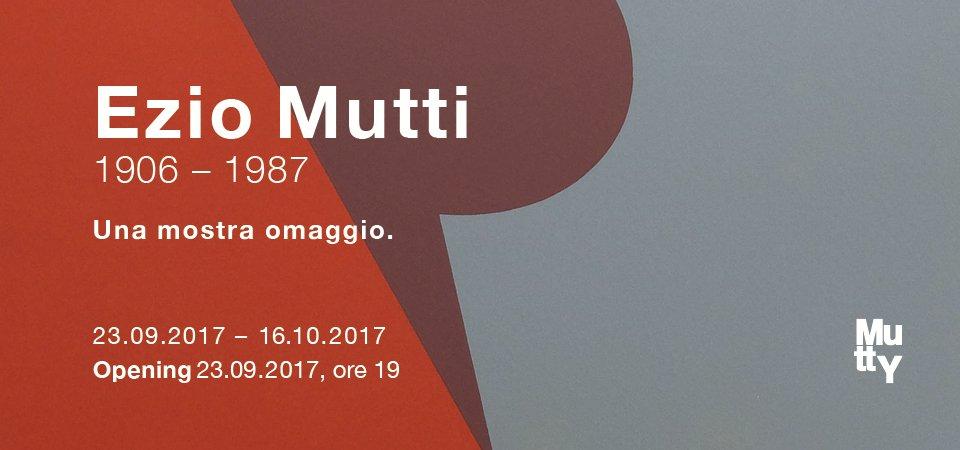 Ezio Mutti (1906 – 1987). Una mostra omaggio