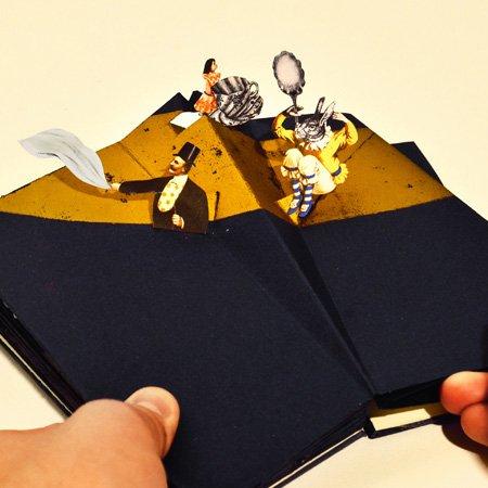 Libri Finti Clandestini – Libro pop-up