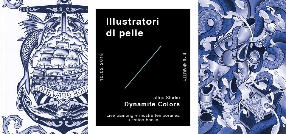 Illustratori di pelle / Tattoo Studio Dynamite Colors