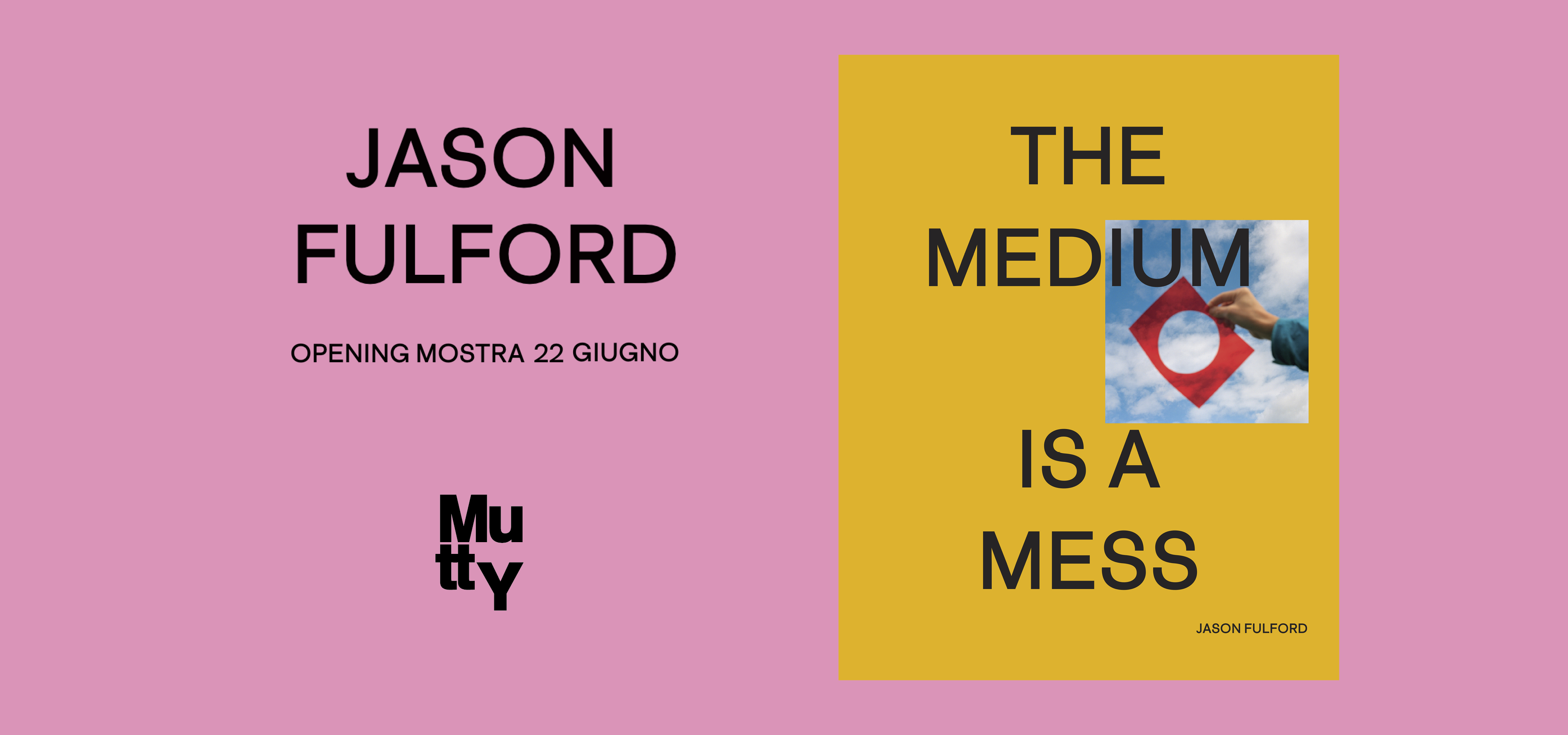 The Medium is a Mess / Jason Fulford & Studio Blanco