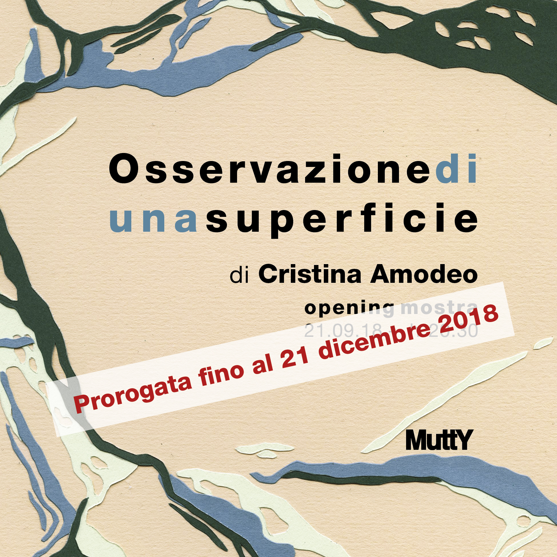 Mostra di Cristina Amodeo
