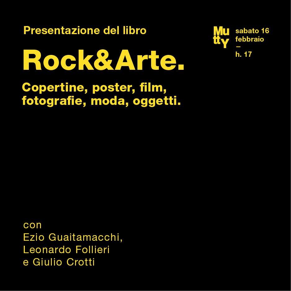 Rock & Arte/ Presentazione del libro con gli autori