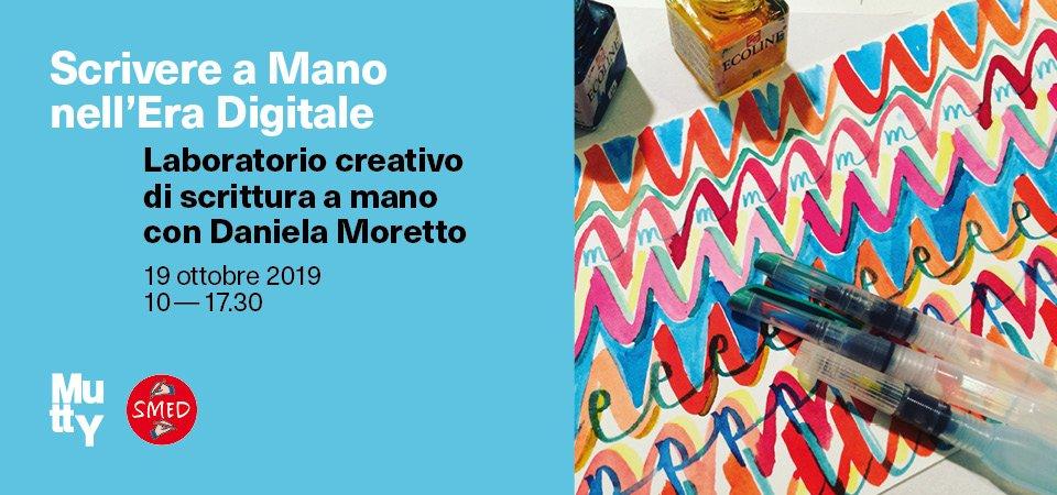 Laboratorio creativo di scrittura a mano con Daniela Moretto