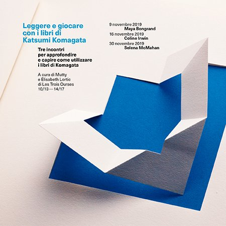 Leggere e giocare con i libri di Katsumi Komagata