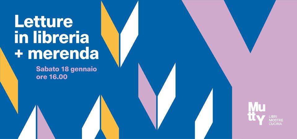 Letture in libreria + Merenda
