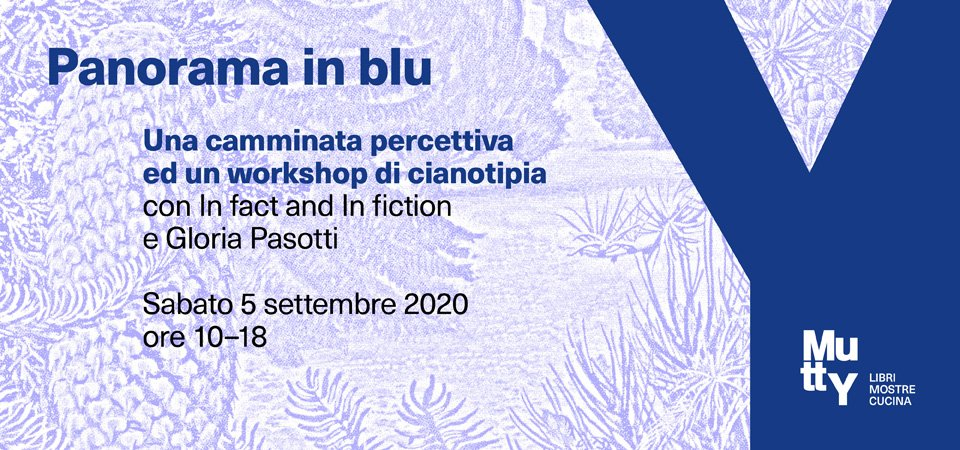 Panorama in blu | Una camminata percettiva e un workshop di cianotipia