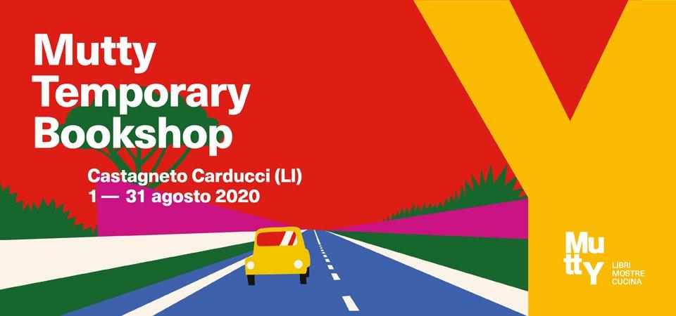 Mutty Temporary Bookshop a Castagneto Carducci