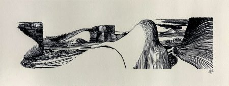 Lorenzo Mattotti Patagonia Serigrafia