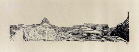 Lorenzo Mattotti Patagonia Serigrafia 66x25 Foto Bassa IMG_2400